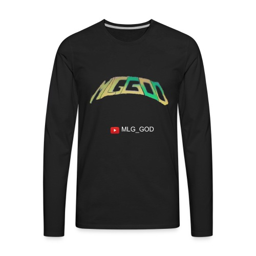 MLG GOD MERCH - Men's Premium Long Sleeve T-Shirt