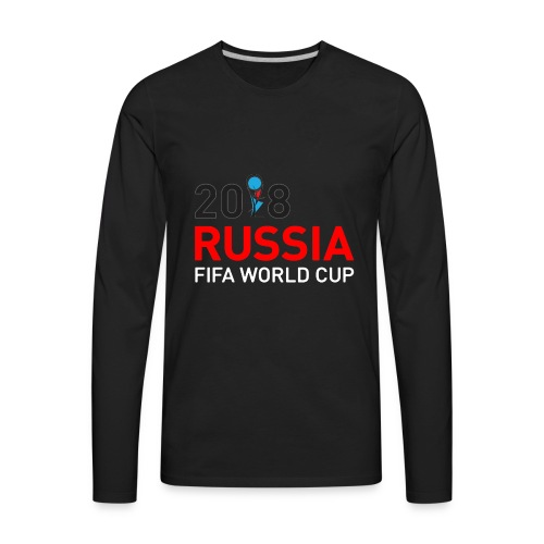 world cup 2018 - Men's Premium Long Sleeve T-Shirt