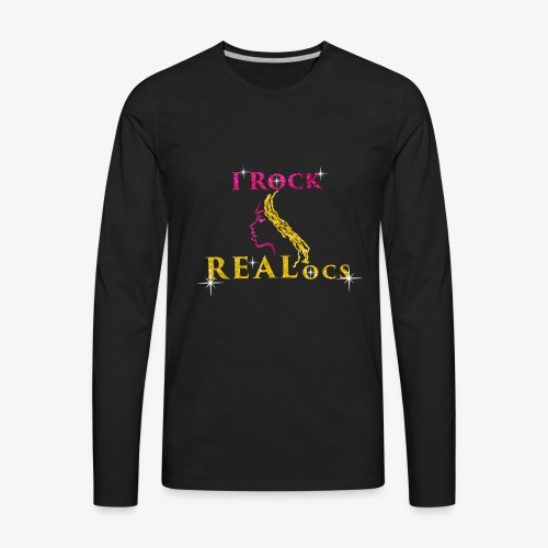 I Rock REALocs - Men's Premium Long Sleeve T-Shirt