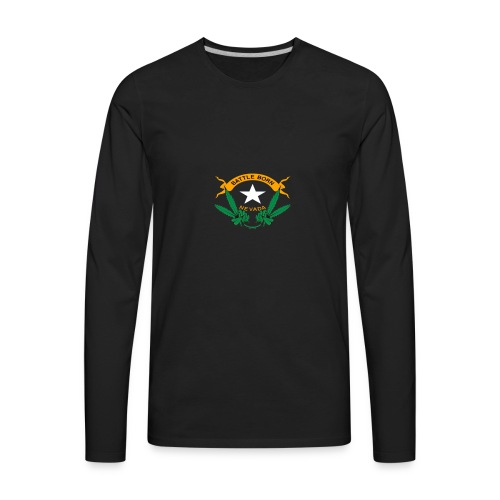 Battle Born Kush - Men's Premium Long Sleeve T-Shirt