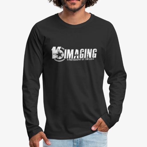 16 Horizontal White - Men's Premium Long Sleeve T-Shirt