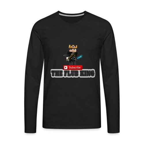 Flub King Gaming!!! - Men's Premium Long Sleeve T-Shirt