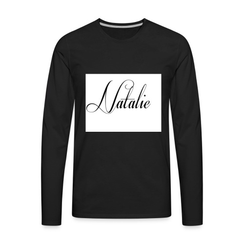 Natalie - Men's Premium Long Sleeve T-Shirt