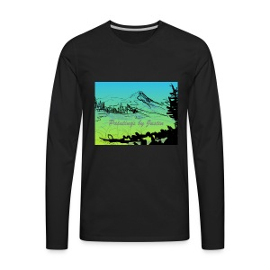 Paintings by Justin color - Men's Premium Long Sleeve T-Shirt