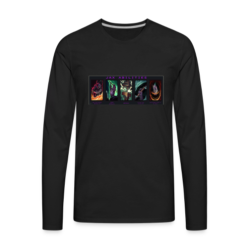 Jax Abilities By Taylor Lee - Men's Premium Long Sleeve T-Shirt