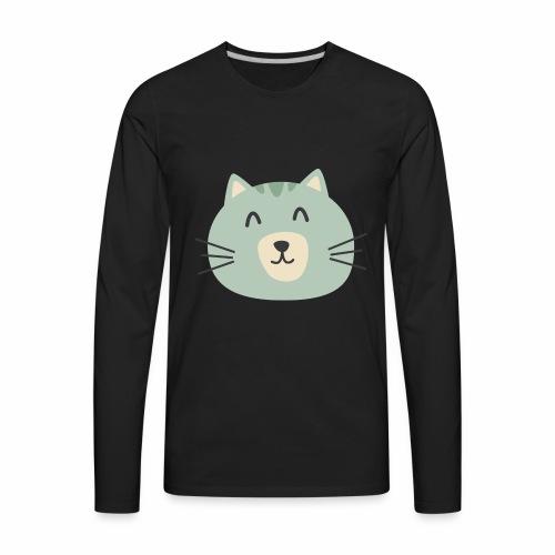 Cathy Kitty - Men's Premium Long Sleeve T-Shirt
