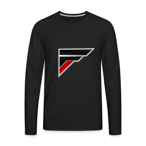 Flash Logo - Men's Premium Long Sleeve T-Shirt