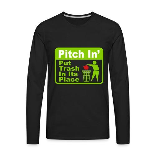 Trash MAGA - Men's Premium Long Sleeve T-Shirt