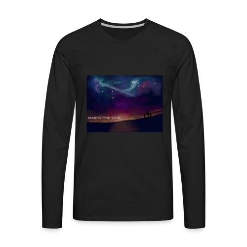 BRIGHTEN THERE FUTURE - Men's Premium Long Sleeve T-Shirt