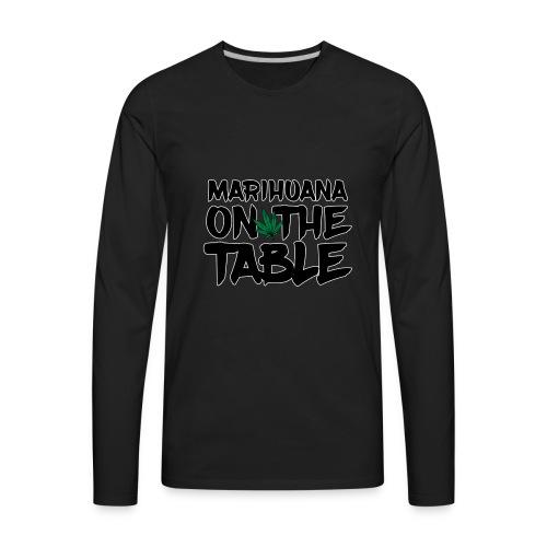 MARIHUANA - Men's Premium Long Sleeve T-Shirt