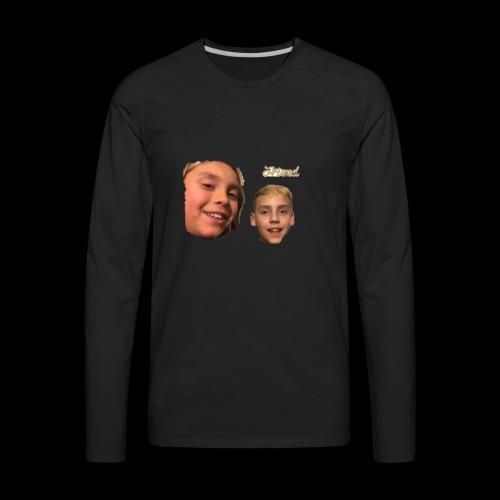 Faces - Men's Premium Long Sleeve T-Shirt