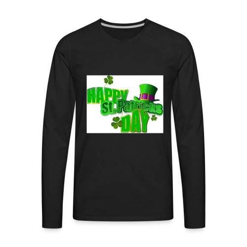 saint patrick day merch - Men's Premium Long Sleeve T-Shirt