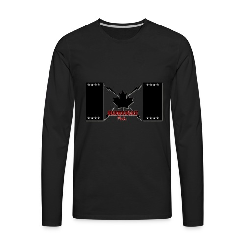slumadian-black - Men's Premium Long Sleeve T-Shirt