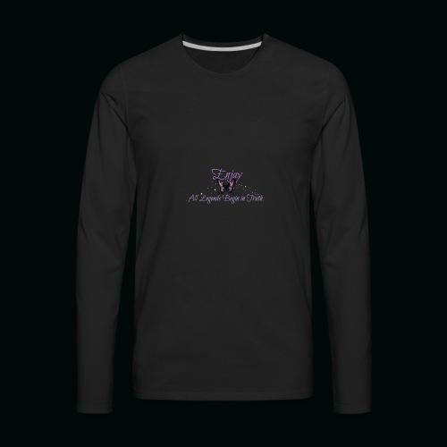 Enjay's Logo - Men's Premium Long Sleeve T-Shirt