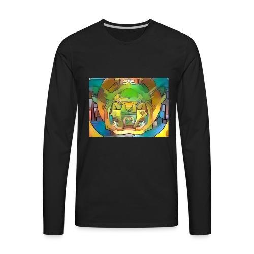fractal art - Men's Premium Long Sleeve T-Shirt