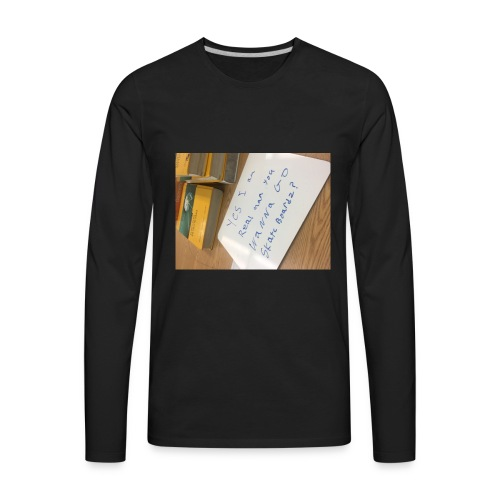 Skateboards? - Men's Premium Long Sleeve T-Shirt
