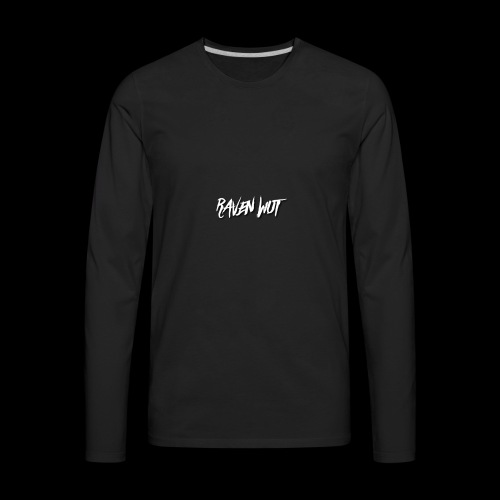 RAVEN WUT custom Line - Men's Premium Long Sleeve T-Shirt