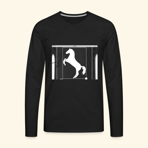 Horse merch - Men's Premium Long Sleeve T-Shirt