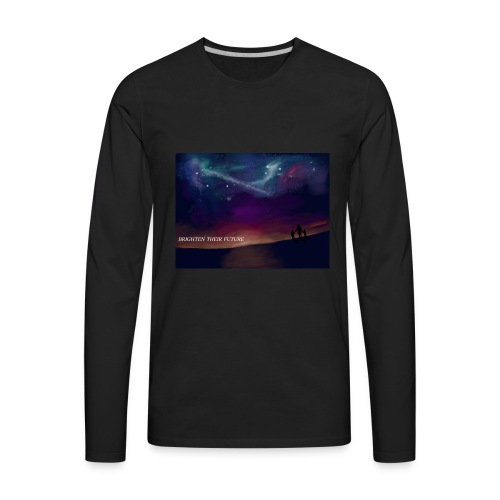 BRIGHTEN THERE FUTURE - Men's Premium Long Sleeve T-Shirt