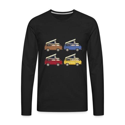 Van vanlife - Men's Premium Long Sleeve T-Shirt