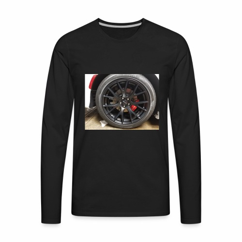 I have the wheel show me the way - Men's Premium Long Sleeve T-Shirt