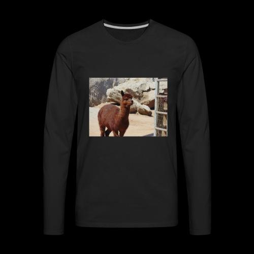 Alpaca - Men's Premium Long Sleeve T-Shirt