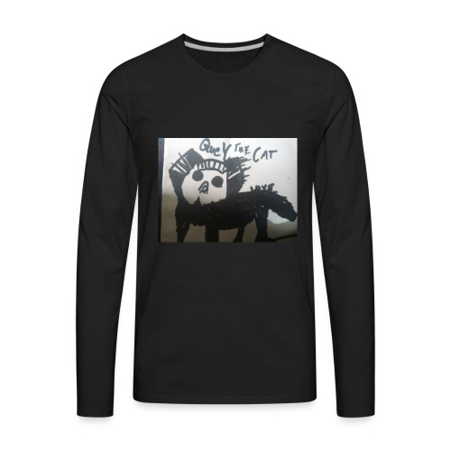 Quey The Cat - Men's Premium Long Sleeve T-Shirt