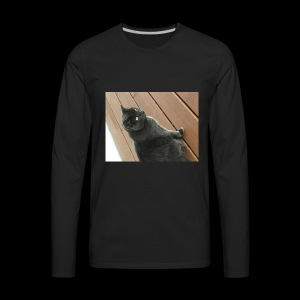 Cat - Men's Premium Long Sleeve T-Shirt