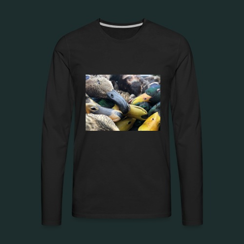 Duck bill case - Men's Premium Long Sleeve T-Shirt