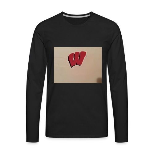 Wisconsin badgers - Men's Premium Long Sleeve T-Shirt