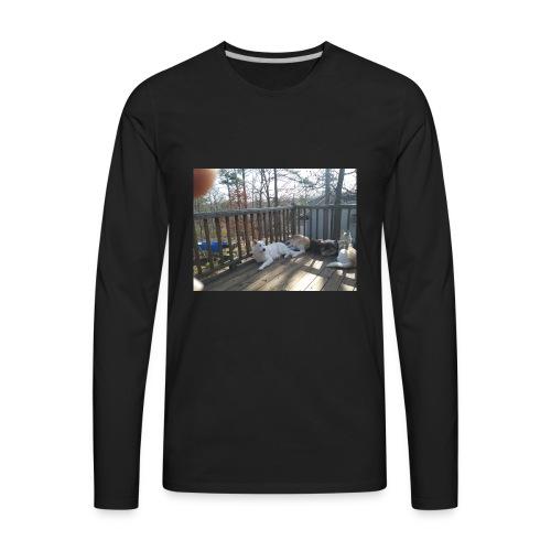 20180216 105557 Burst01 - Men's Premium Long Sleeve T-Shirt
