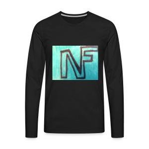 NF logo - Men's Premium Long Sleeve T-Shirt