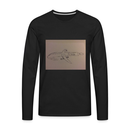 It's the F1-savage - Men's Premium Long Sleeve T-Shirt