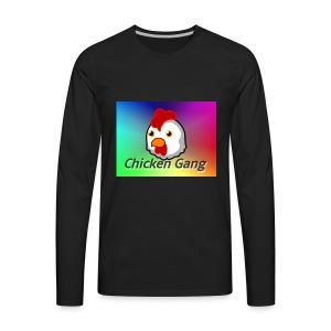 Chicken gang - Men's Premium Long Sleeve T-Shirt