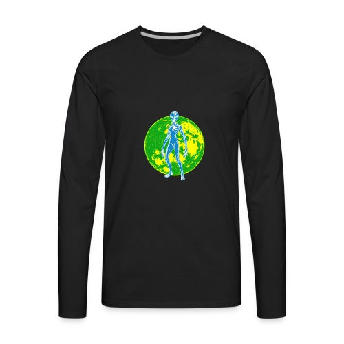 Alien Moon - Men's Premium Long Sleeve T-Shirt