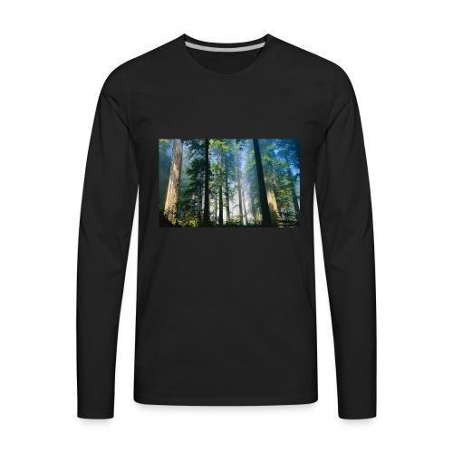 Redwood Forest LGLT - Men's Premium Long Sleeve T-Shirt
