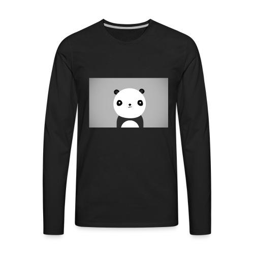 cute background tumblr - Men's Premium Long Sleeve T-Shirt