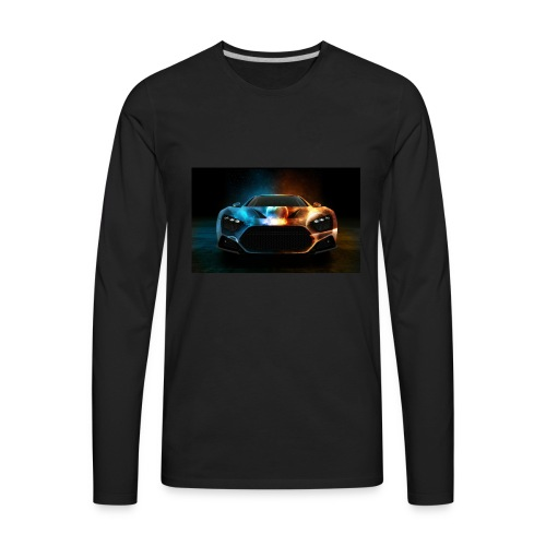 Download Cool Wallpaper Cars Background free stock - Men's Premium Long Sleeve T-Shirt