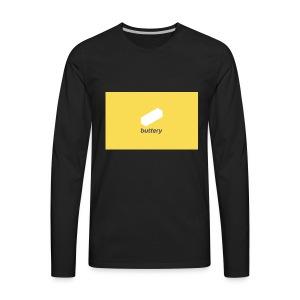 Buttery Design - Men's Premium Long Sleeve T-Shirt