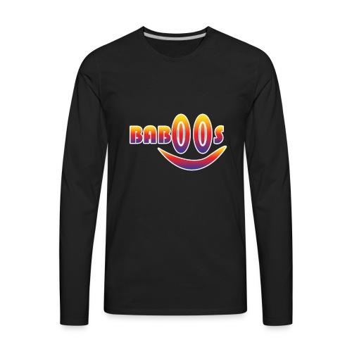 Baboos smiley funny design - Men's Premium Long Sleeve T-Shirt