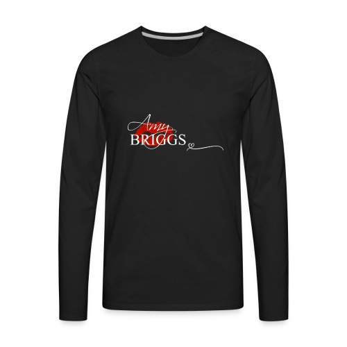 Amy Briggs Kiss 4 - Men's Premium Long Sleeve T-Shirt