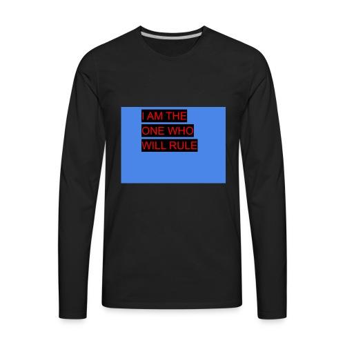 16D5FF8E CADA 408D 9BE9 9DE883CACC26 - Men's Premium Long Sleeve T-Shirt