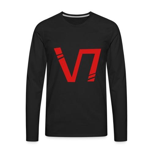 V7 Sniping Logo - Men's Premium Long Sleeve T-Shirt