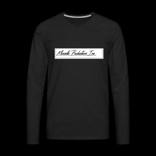Marcello Production Inc. Merch - Men's Premium Long Sleeve T-Shirt