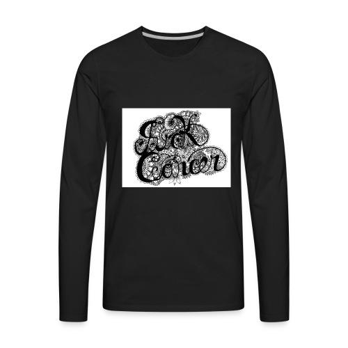 fuck_cancaer_final_001 - Men's Premium Long Sleeve T-Shirt