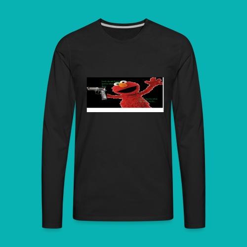 Yung Elmo - Men's Premium Long Sleeve T-Shirt