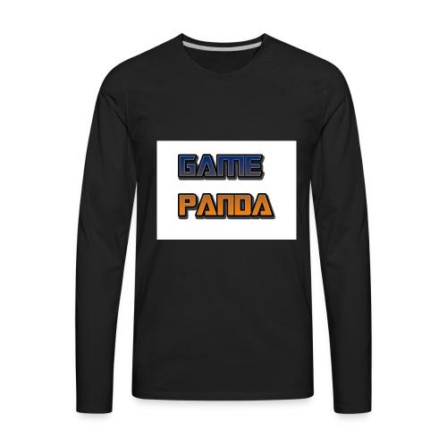Game Panda Casuals New design at cheap Price - Men's Premium Long Sleeve T-Shirt