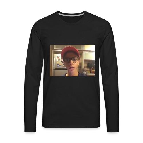 Yousef tube sucks! - Men's Premium Long Sleeve T-Shirt