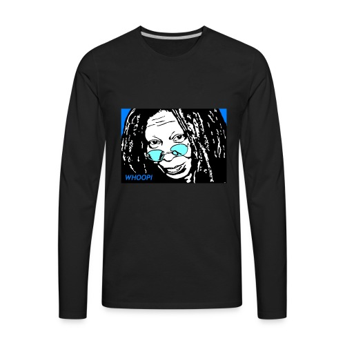 WHOOPI - Men's Premium Long Sleeve T-Shirt
