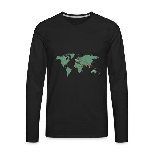 Map - Men's Premium Long Sleeve T-Shirt
